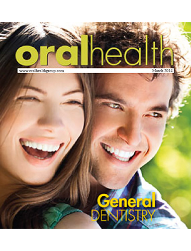 cover of oral health magazine